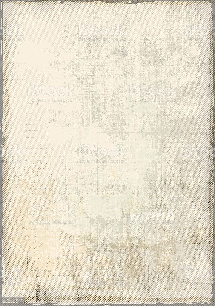 Empty Vintage Background Empty vintage background - layered eps 10 illustration with transparency. Global colors used - easy to change an edit. Abstract stock vector