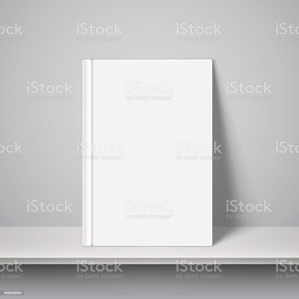 Leeres Weißes Buch Vorlage Stock Vektor Art und mehr Bilder von ...
