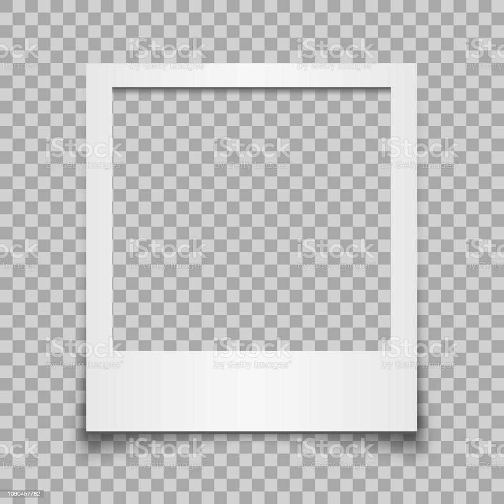 Leere weiße Bilderrahmen - Vektor für Lager - Lizenzfrei Alt Vektorgrafik