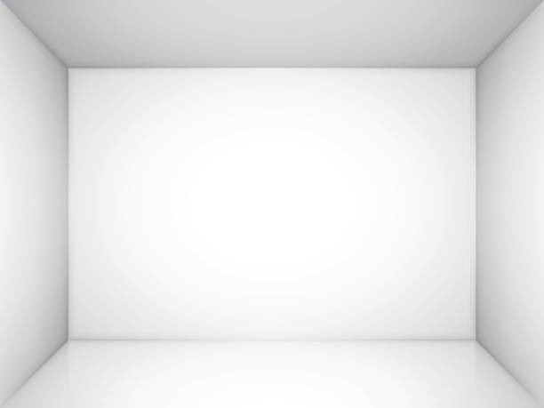 empty white room - empty room stock illustrations