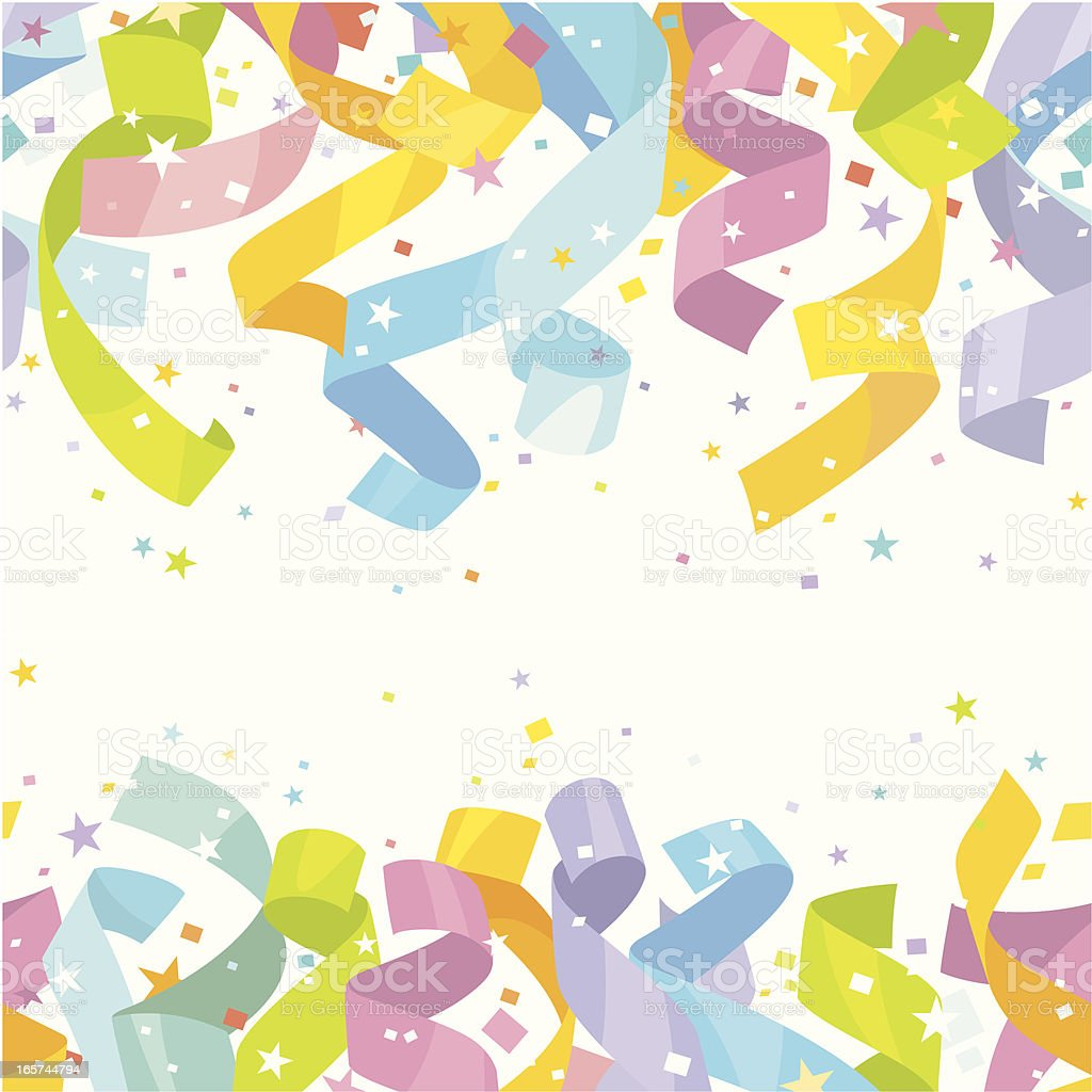 Endless Celebration (Seamless) royalty-free endless celebration stock vector art & more images of celebration