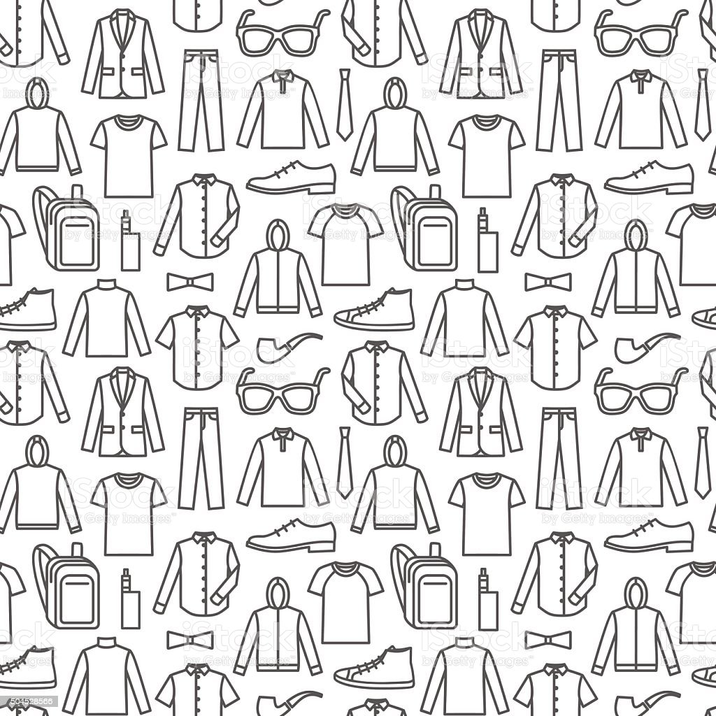 endless clothes background stock vector art amp more images