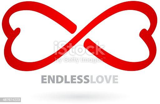 un amour infini symbole infini cliparts vectoriels et plus d 39 images de abstrait 487674223 istock. Black Bedroom Furniture Sets. Home Design Ideas