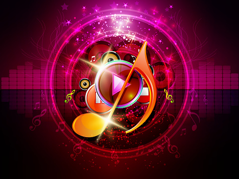 Energetic Music Background