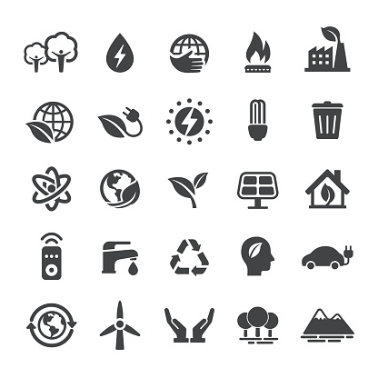 Energy and Eco Icons - Smart Series