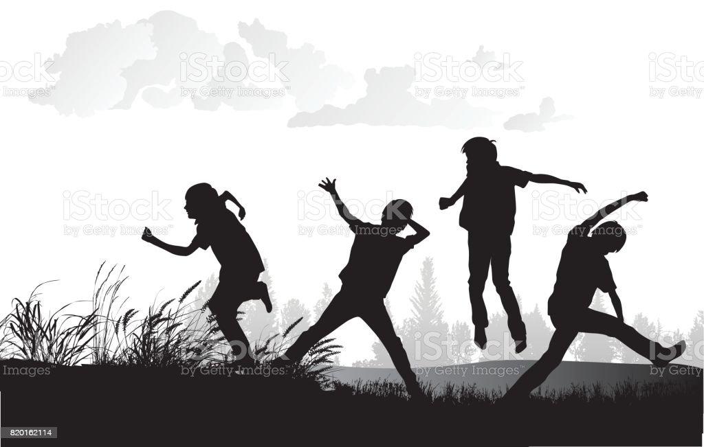 Energiefeld Boys – Vektorgrafik