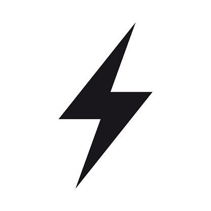 Energy, electricity, power icon