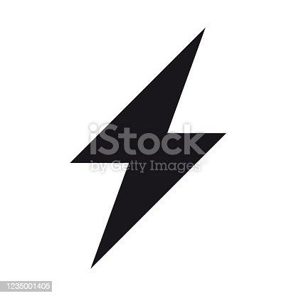 istock Energy, electricity, power icon 1235001405