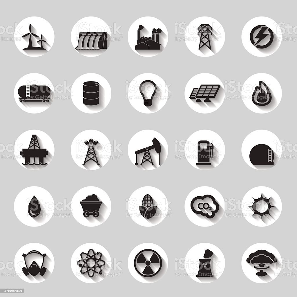Energy electricity power icons signs and symbols stock vector art energy electricity power icons signs and symbols royalty free energy electricity power icons biocorpaavc Gallery