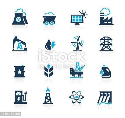 Vector energy related icons for your web or printing proyects.