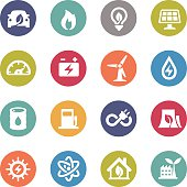 Energy Icons - Circle Series