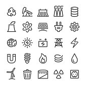 water energy icon set,vector illustration