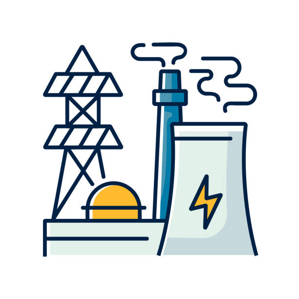 134 Cartoon Of The Nuclear Reactor Illustrations Clip Art Istock