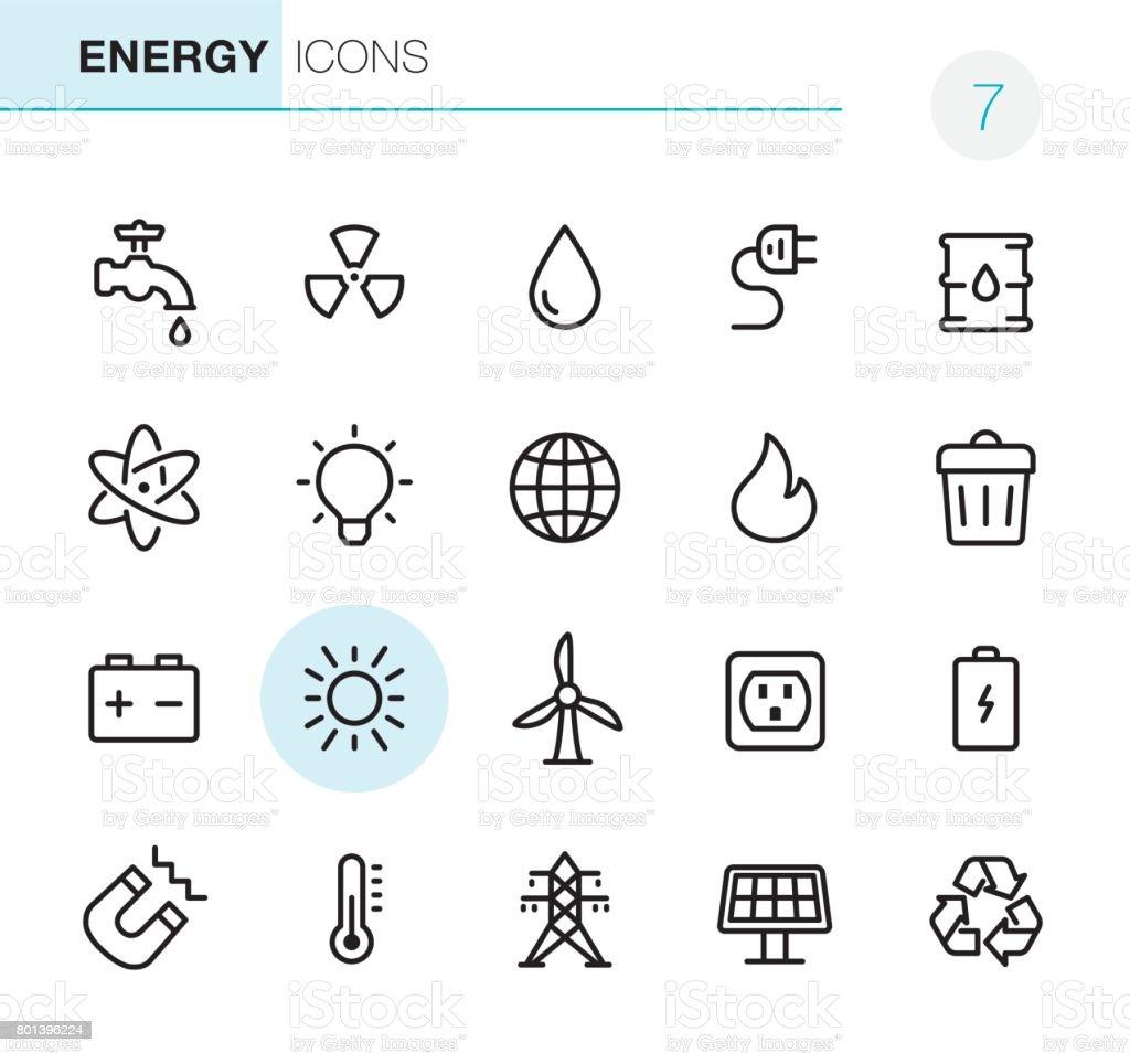 Energy - Pixel Perfect icons