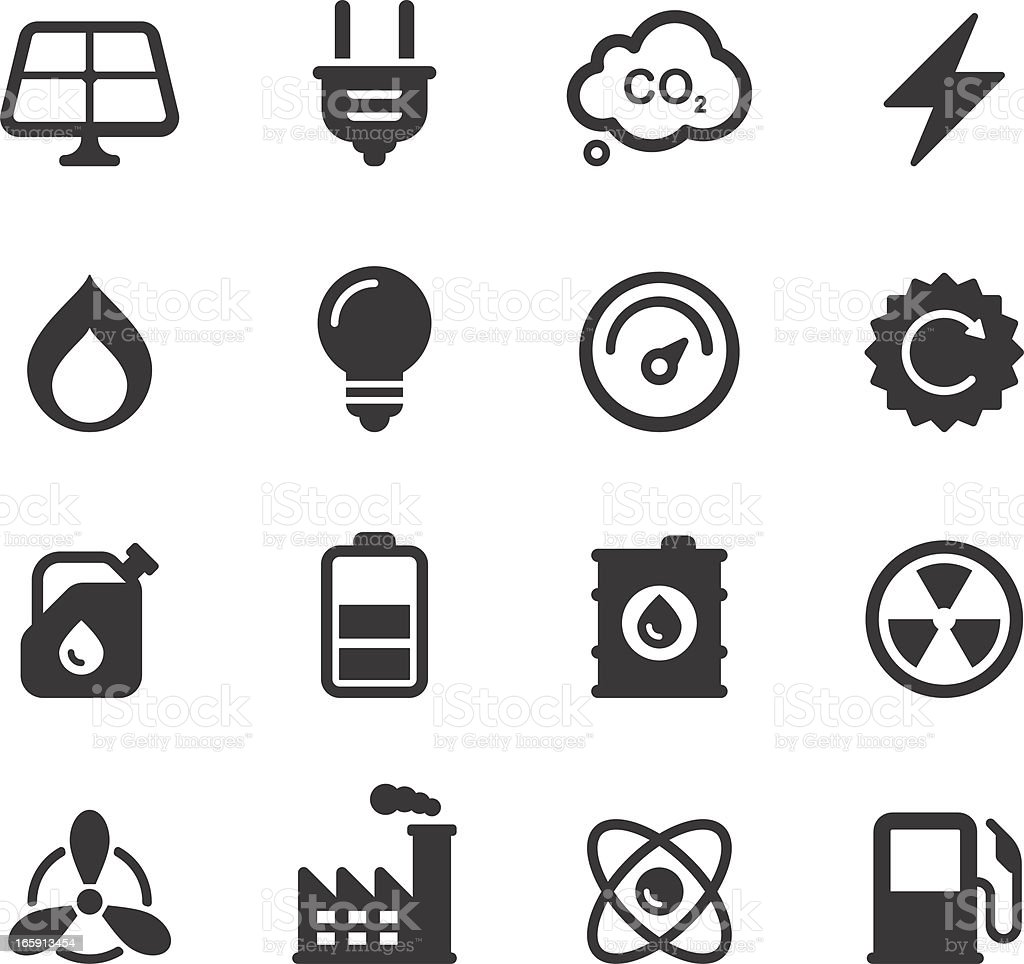 Energy, Power Icons royalty-free energy power icons stock vector art & more images of alternative energy