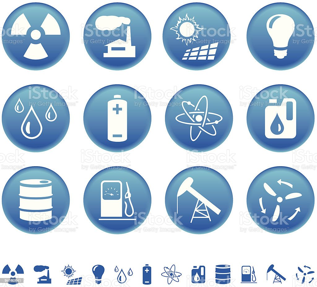 Energy & resource icons royalty-free energy resource icons stock vector art & more images of arrow symbol