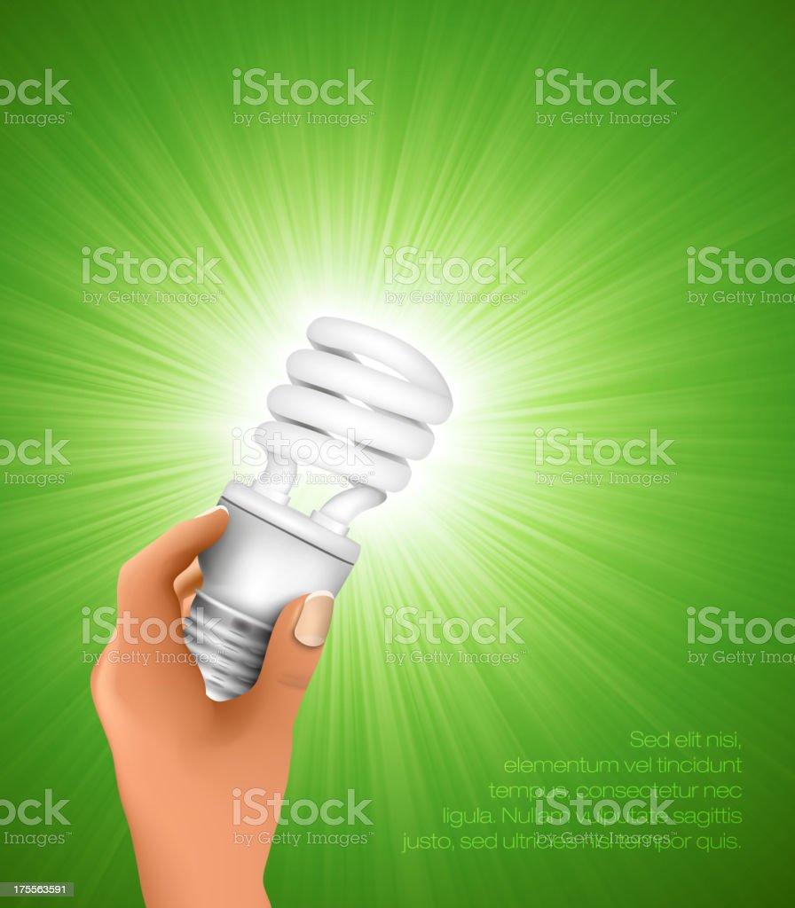 energy saving light bulb royalty-free energy saving light bulb stock vector art & more images of affectionate