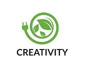 Energy vector icon