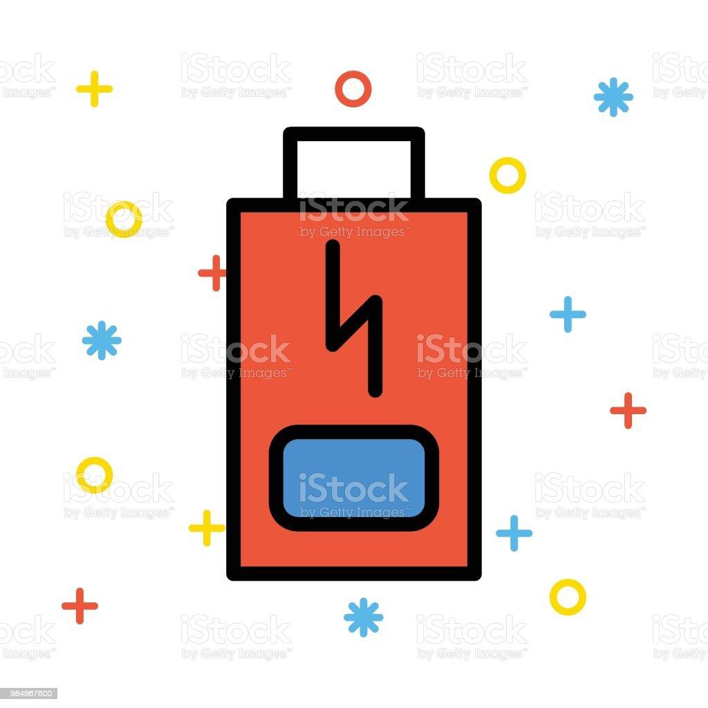 L'énergie - Illustration vectorielle