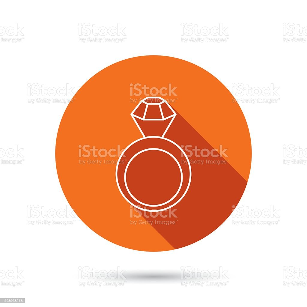 Engagement Ring Icon Jewellery With Diamond Stock Illustration Download Image Now Istock