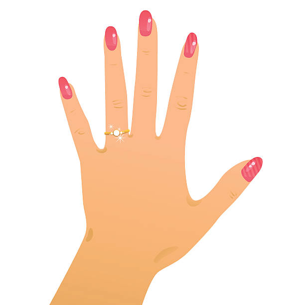 Best Ring Finger Illustrations, Royalty-Free Vector