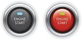 istock Engine Start Button 453677067