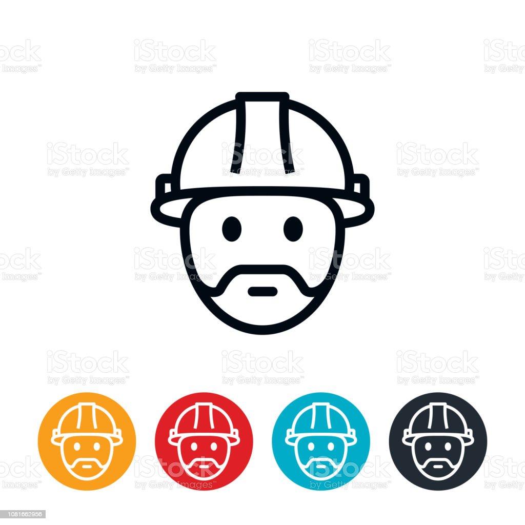 Engineer Icon vector art illustration