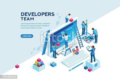 istock Engineer Team Project Template 1054962640