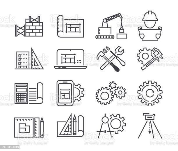 Engineering and manufacturing vector icon set in thin line style vector id861030038?b=1&k=6&m=861030038&s=612x612&h=i1yvgldr2xn9wuktzboouozk5xi 30kwypmz tdxd8e=