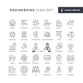 29 Engineering Icons - Editable Stroke - Easy to edit and customize - You can easily customize the stroke with