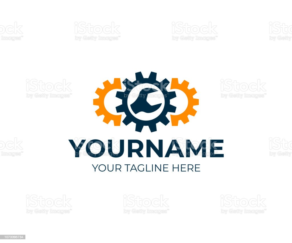 Engineering, gears and wrench, design. Repair, service, industry, industrial and mechanical, vector design and illustration royalty-free engineering gears and wrench design repair service industry industrial and mechanical vector design and illustration stock illustration - download image now