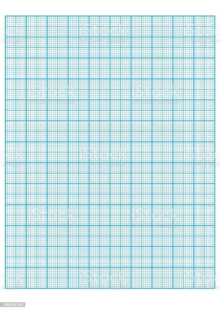 engineering graph paper Printable Graph Paper vector illustration vector art illustration