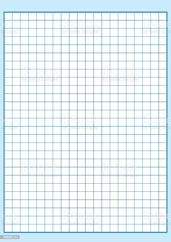 Printable Graph Papers | Engineering Graph Paper Printable Graph Paper Vector Illustration