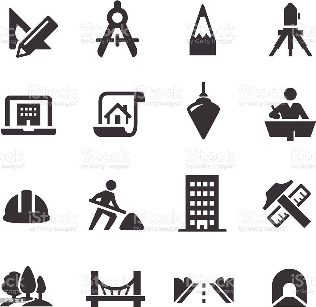 Engineering Icons - Acme Series vector art illustration
