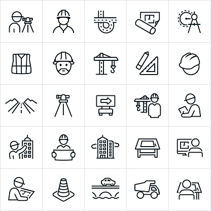 Engineering Icons clipart
