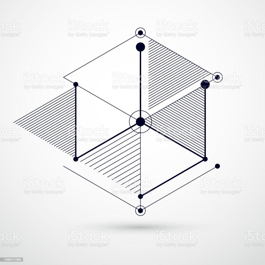 Vetores De Engenharia Tecnologia Vector Preto E Branco Papel De