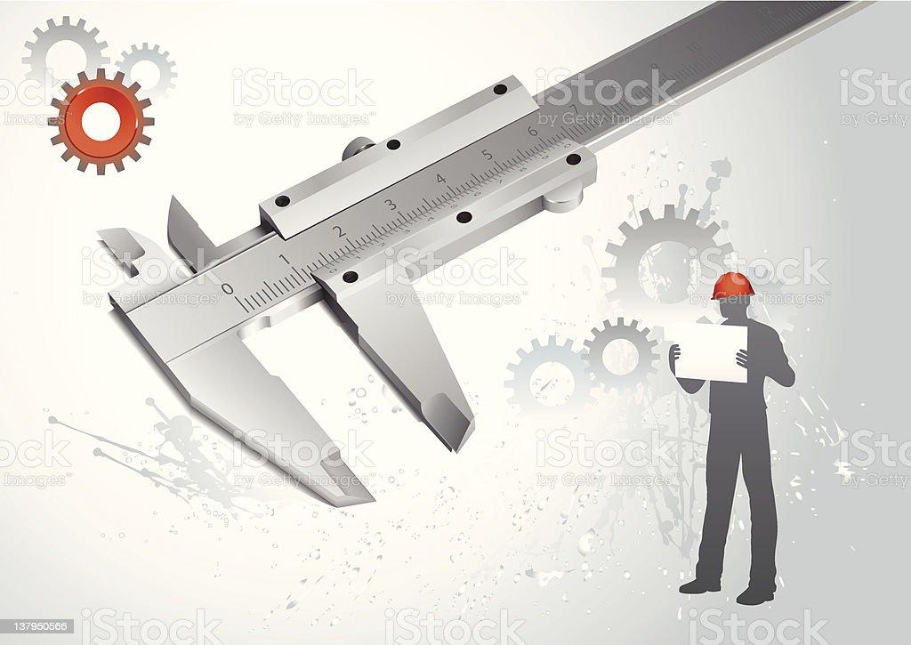 Engineering vector concept royalty-free stock vector art