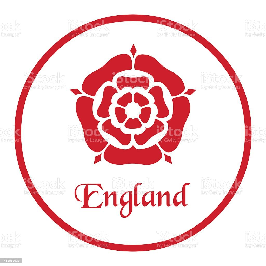 England emblem vector art illustration