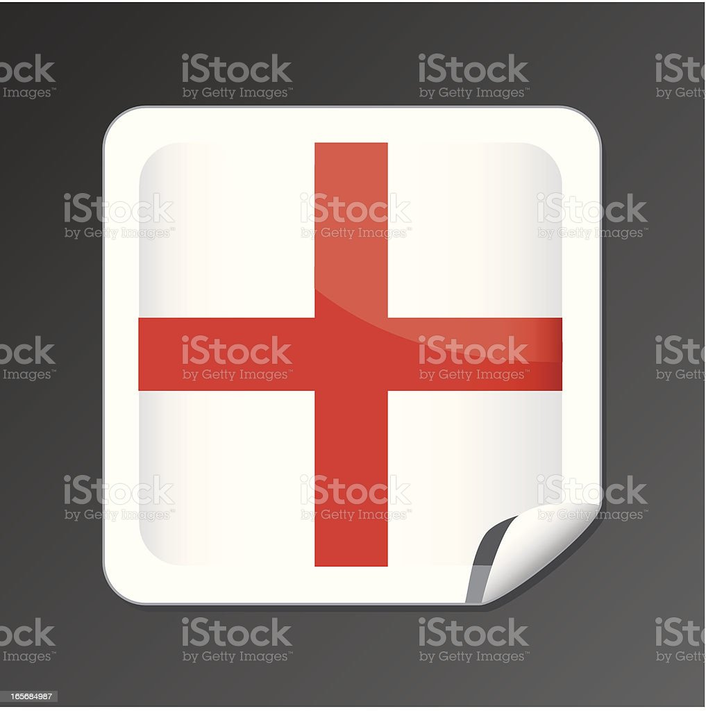 England flag icon royalty-free england flag icon stock vector art & more images of concepts