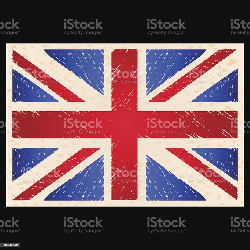 England Flag royalty-free england flag stock vector art & more images of black background
