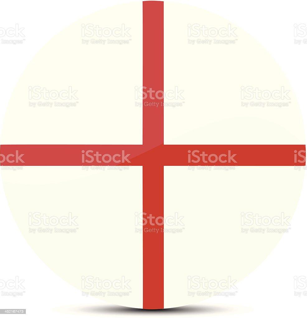 England flag royalty-free stock vector art