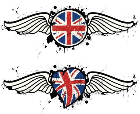 england flying set