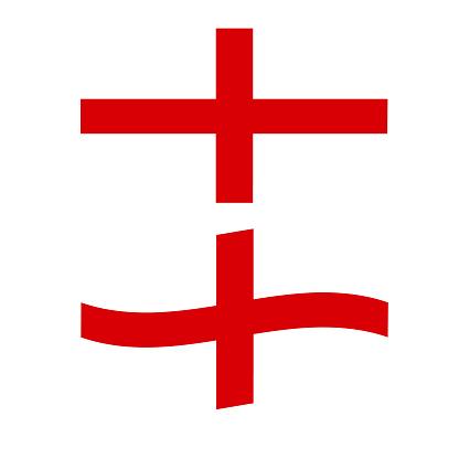 England national Flag on white background. Original and simple Republic of The England flag. waving England Flag. flat style.