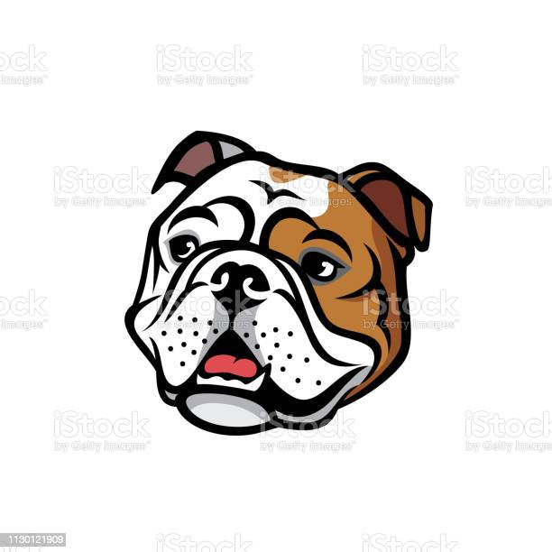 English bulldog face isolated vector illustration vector id1130121909?b=1&k=6&m=1130121909&s=612x612&h=3qvls69unnhjk7i3x5paklulnftckxso nlk0fi3hj8=