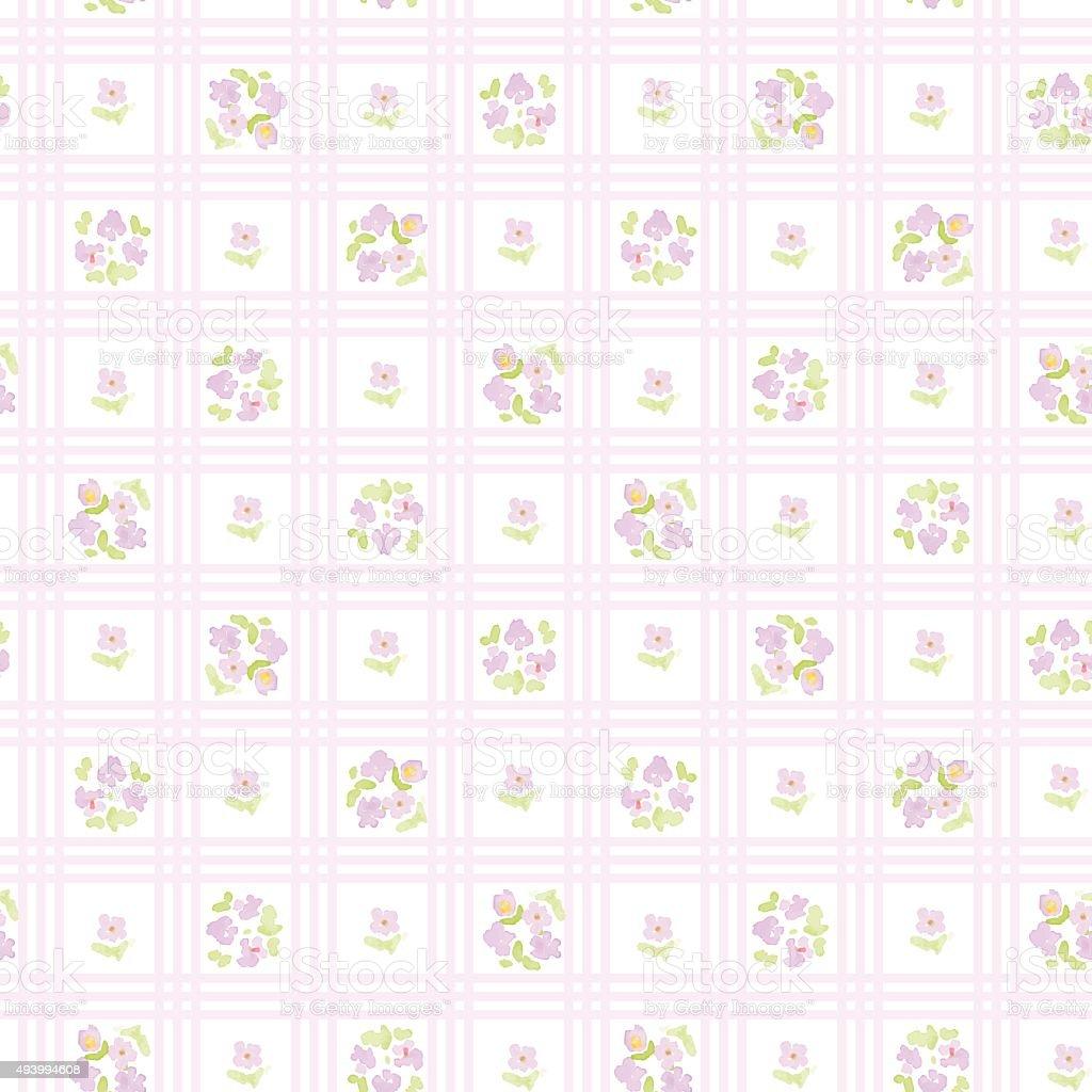 英語の花柄にクロス Stripes花のビンテージベクトルの壁紙 2015年の