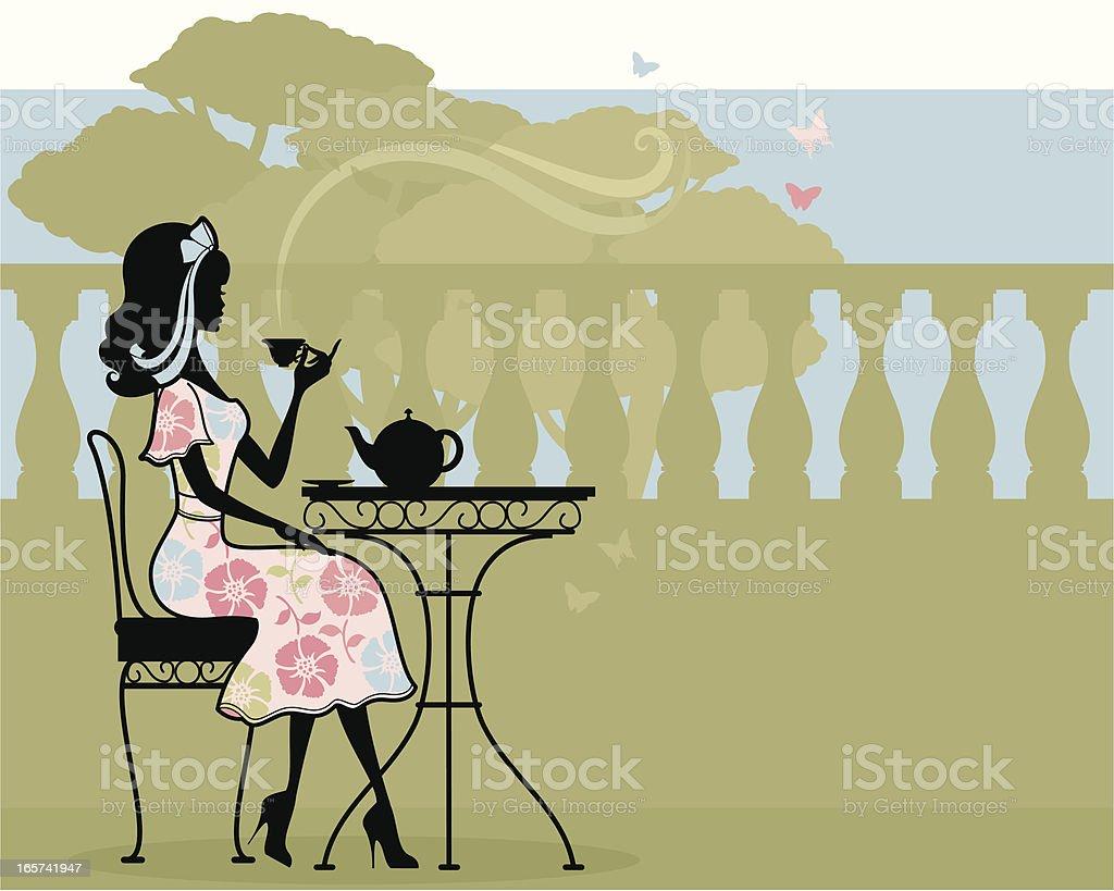 English Tea royalty-free stock vector art