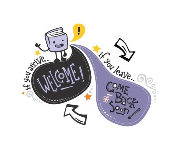 英語歓迎 phrase_book - 作文の授業点のイラスト素材/クリップアート素材/マンガ素材/アイコン素材