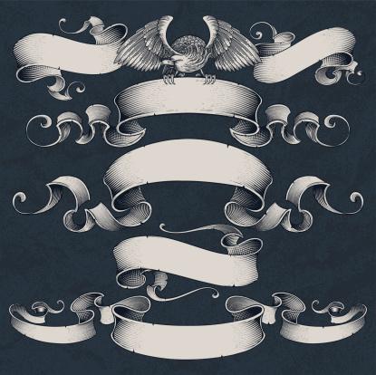 Engraved Ribbons Set