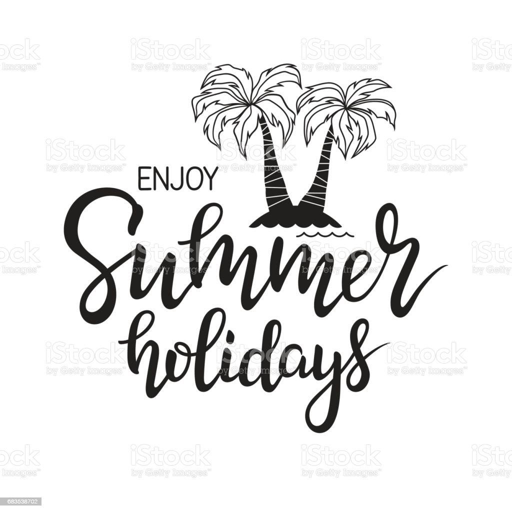 Couple Enjoying Their Summer Holidays Stock Photo: Enjoy Summer Holidays Stock Vector Art & More Images Of