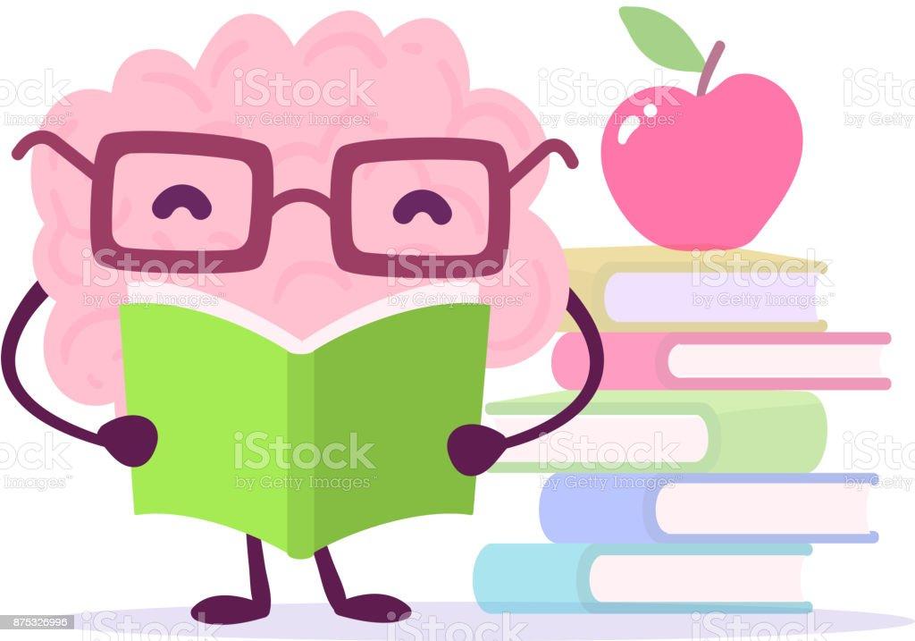Ilustración de Concepto De Dibujos Animados De Educación Agradable ...